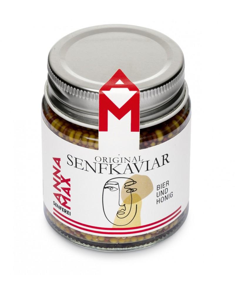 Senfkaviar Bier und Honig