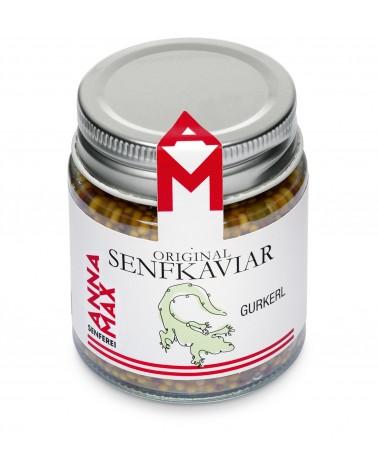 Senfkaviar Gurkerl